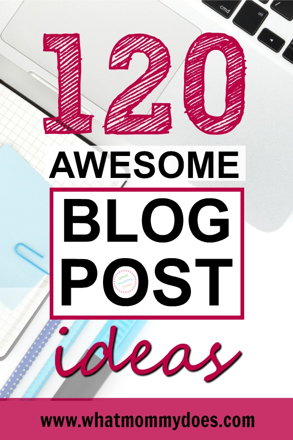 Where you're a beginner blogger it's so hard to come up with fresh blog post ideas that resonate with readers. Here's a free checklist of lifestyle blog post ideas that you can use when you're stuck for types of articles to write! Never wonder what to blog about again! | blogging for money, good blog topic ideas, earn extra cash blogging in 2019