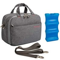 Bottle Cooler Bag with Ice Pack