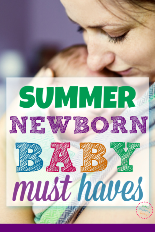 I wish someone had given me this MUST HAVE items for summer newborns! I had two babies in May and when June/July/August were here it was hard to keep them cool!! Follow the advice here and you'll be prepared with the essentials.