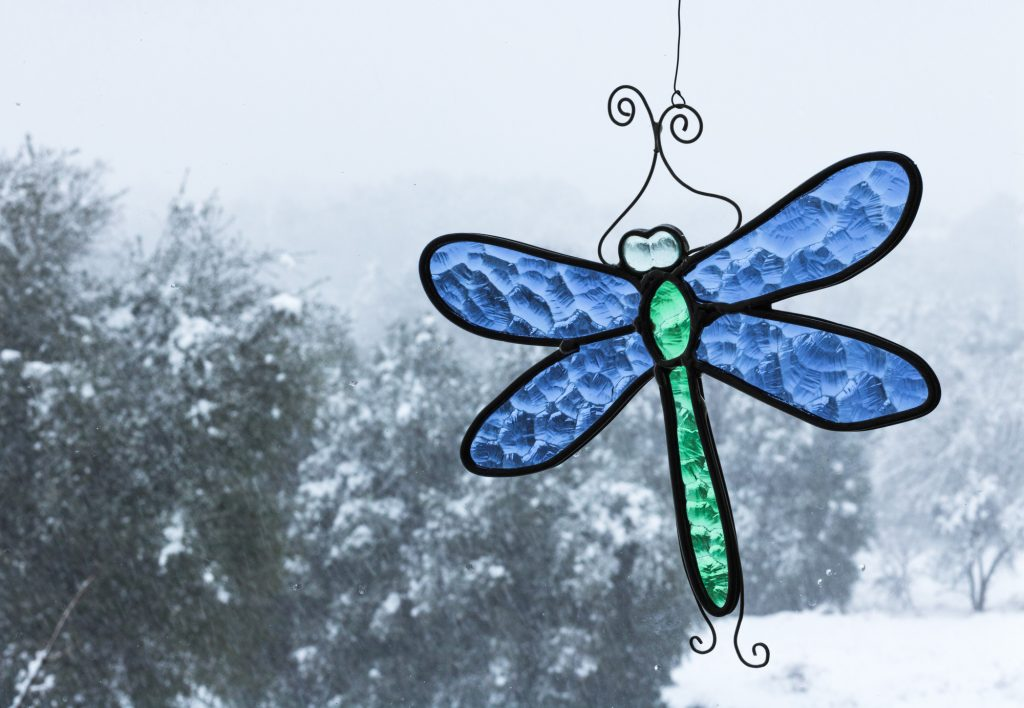 Dragonfly sun catcher - easy & cheap craft to sell