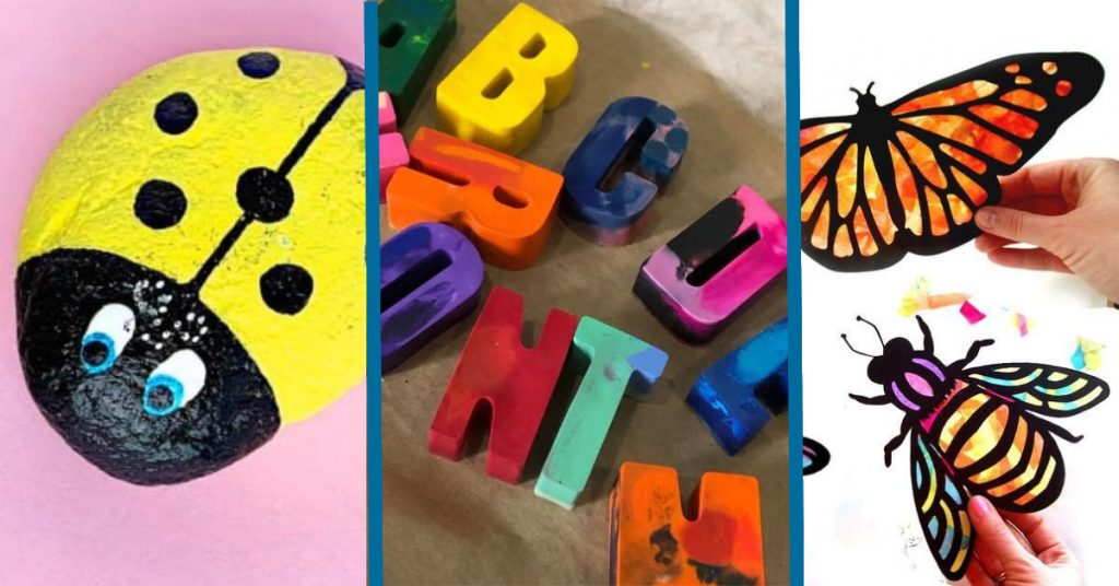 10 Cool Craft Projects For Kids Easy Fun Things To Make At Home What Mommy Does