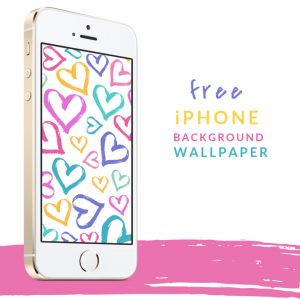 free iphone heart wallpaper background lock screen