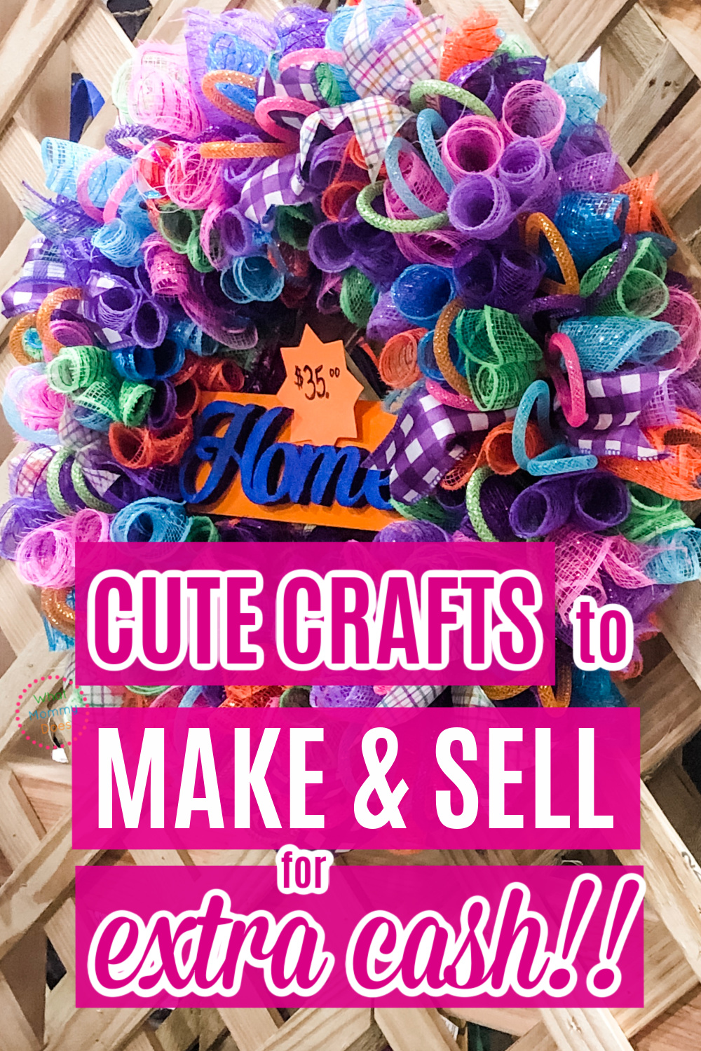 50 Crafts You Can Make And Sell In 2021 For Extra Cash This Month What Mommy Does