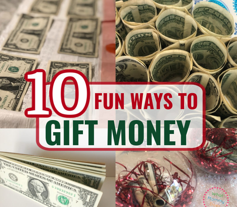 10 Fun Ways to Give Money as a Gift!