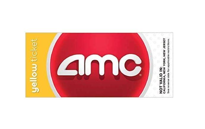AMC movie ticket voucher to purchase online