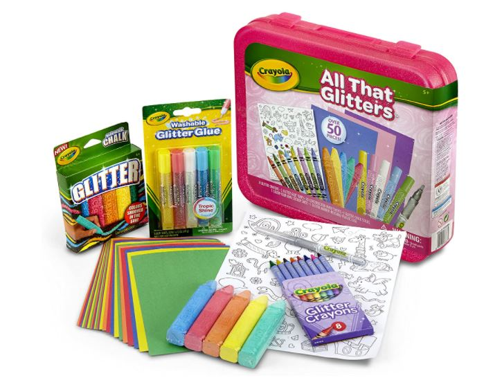All that glitters art kit for kids