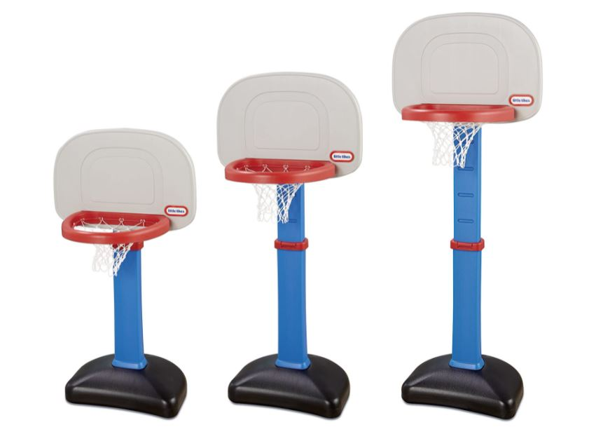 multi size basketball goal gift for a small child