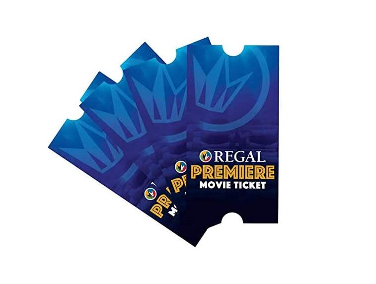 regal tickets you can purchase as gifts on Amazon
