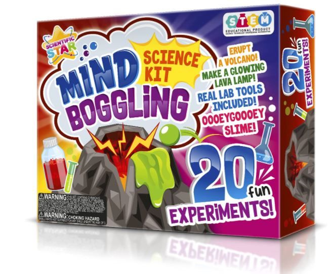 children's science kit for mind boggling experiments gift