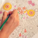 adult coloring in pages in a coloring book